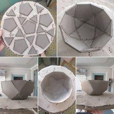 Hand Built Pottery, Slab Pottery, Ceramic Pottery, Pottery Art, Thrown Pottery, Pottery Studio, Clay Art Projects, Ceramics Projects, Ceramic Techniques