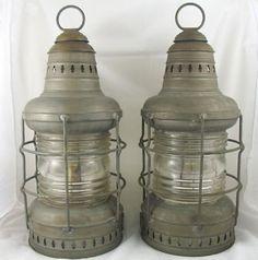 nautical lantern.