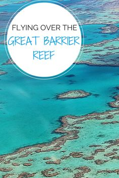 A scenic flight is the best way to see the Great Barrier Reef in Australia, and includes great views of Heart Reef and Whitehaven Beach