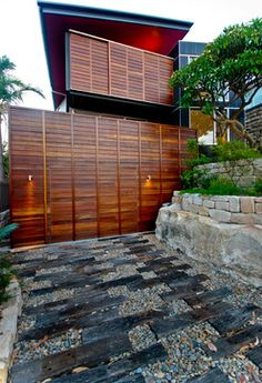 cool creative garage doors contemporary landscapelandscape designgarden