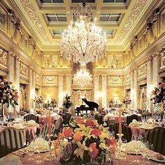 Hotel Imperial in Vienna, Austria.