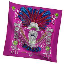 Hermes Women's Medium Silk Twill Scarves in Hot Pink | Hermes.com (BB)