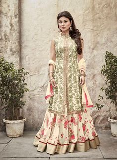#VYOMINI - #FashionForTheBeautifulIndianGirl #MakeInIndia #OnlineShopping #Discounts #Women #Style #EthnicWear #Anarkali #OOTD  Only Rs 2425/, get Rs 449/ #CashBack, ☎+91-9810188757 / +91-9811438585