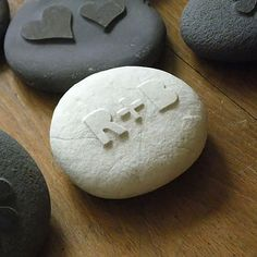 Wedding favour pebble