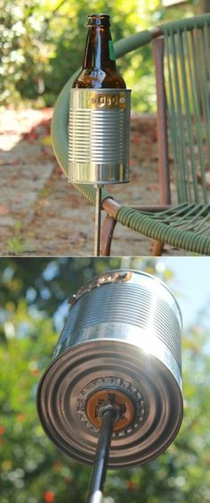 DIY your Christmas gifts this year with GLAMULET. 21 Diy Cup Holder Ideas, Enhances The Feel And Look Of Your Kitchen Area Diy Cup, Outdoor Fun, Outdoor Decor, Outdoor Camping, Backyard Camping, Ideias Diy, Outdoor Projects, Liquor, Outdoor Living