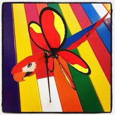 Flying Family Fuerteventura windmill