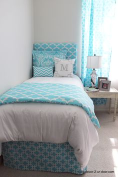 Bed set inspiration, teen room makeover, teen room decor, bedroom decor f. Girls Dorm Room, Girl Room, Room Inspiration, Bedroom Decor, Dorm Room Bedding, Room Makeover, Bed Set Inspiration, Bed Design, Room