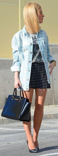 H&m Denim Plus Size Jacket