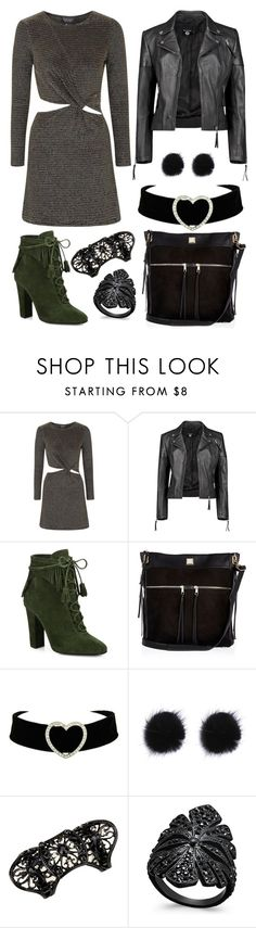 """""""The Loss"""" by staysaneinsideinsanity ❤ liked on Polyvore featuring Topshop, Boohoo, Giuseppe Zanotti, River Island and INC International Concepts"""