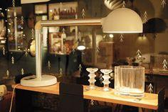 Lampe de table Robert Haussmann, éd. Swiss Lamps Int., c. 1970
