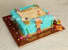 - Jake and the Neverland Pirates cake