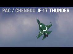 PAC/Chengdu JF-17 Thunder Displays Maneuvers at Paris Air Show (Display 1) – AINtv - YouTube Pakistan Armed Forces, Chengdu, Air Show, Thunder, Fighter Jets, Brave Heart, Aircraft, Display, Paris