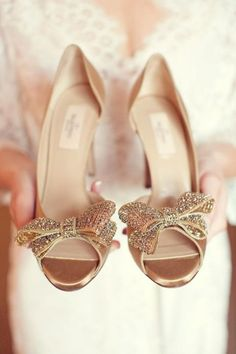 8fd4485af1c4 53 Sparkly Wedding Shoes To Accentuate Your Bridal Look