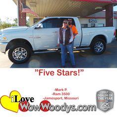 """Five Stars!"" Mark P"