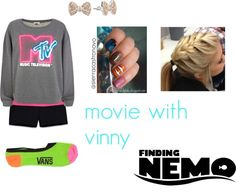 """""""movie with vin"""" by sierracastronovo ❤ liked on Polyvore"""