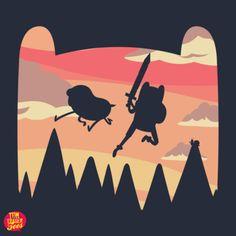 The Heroes Of Ooo - Two Awesome Bros, One Big Adventure - Neatorama Adventure Time Wallpaper, Adventure Time Art, Adventure Time Steampunk, Land Of Ooo, Illustration Art, Nerd, Geek Stuff, Art Prints, History