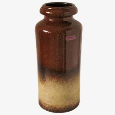 Vintage Keramik Vase von Scheurich, 1970er Jetzt bestellen unter: https://moebel.ladendirekt.de/dekoration/vasen/tischvasen/?uid=b5c076eb-d4df-5005-8a8f-c3ea68eed409&utm_source=pinterest&utm_medium=pin&utm_campaign=boards #tischvasen #vasen #dekoration