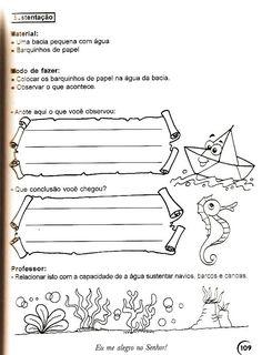 JORNAL R 7ª: TEMA: A ÁGUA + 100 ATIVIDADES DO TEMA.
