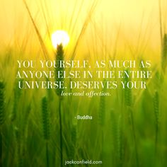 You have to #love yourself first. It's the most unselfish thing you can do.