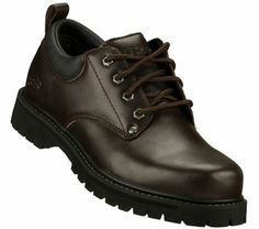 SKETCHERS Mens Alley Cats Lace-up Shoes - Brown - 13