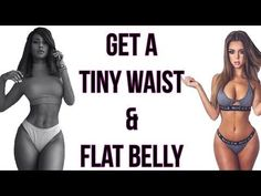 How To Get A Tiny Waist and Flat Belly (Workouts Inside) - Femniqe