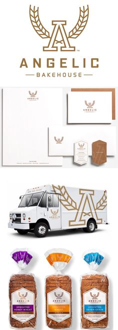 New Name, Logo, and Packaging for Angelic Bakehouse by Shine United