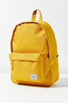 Herschel Supply Co. Classic Mid-Volume Backpack Shop Herschel Supply Co. Classic Mid-Volume Backpack at Urban Outfitters today. Discover more selections just like this online or in-store… Backpacks For College Girl, Cute Backpacks For School, Trendy Backpacks, Girl Backpacks, Bags For School, Vans Mochila, Mochila Herschel, Herschel Backpack, Herschel Classic Backpack