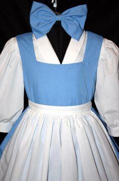 Blue dress belle costume 2t