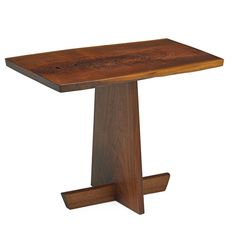 GEORGE NAKASHIMA Unusual Minguren side table - Price Estimate: $12000 - $18000