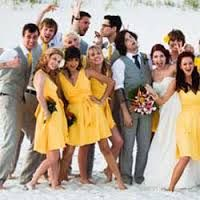 Image result for mustard bridesmaid dresses