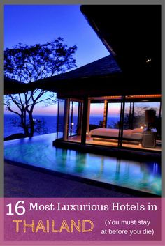 Most Luxurious Hotels in Thailand | Where to stay in Thailand | Luxury Hotels | Hotels in Thailand | Pool Villas