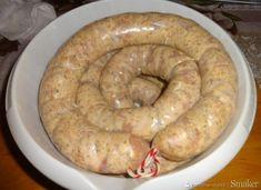 Biała kiełbasa z ćwiartek kurczaka. - przepis ze Smaker.pl Sausage, Meat, Food, Beef, Meal, Sausages, Essen, Hoods, Meals