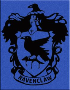 Ravenclaw Crest by Eye2Vinyl on Etsy