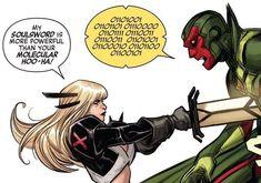 Comic Art, Comic Books, Rasputin, Superhero Design, Star Sapphire, Marvel Avengers, X Men, Marvel Universe, Nerd