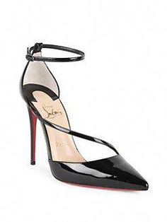 78ff98bff40f Christian Louboutin - Fliketta 85 Patent Leather d Orsay Sandals   ChristianLouboutin Ladies Fashion