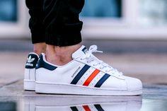 sports shoes 62c5c 7208a Adidas Superstar Foundation (via Kicks-daily.com) Moda Masculina, Tenis,