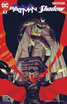 What Fear Lurks In The Heart Of Batman: Batman/The Shadow #1 Review