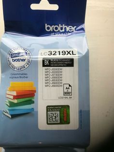 Genuine Brother LC3219 XL High Capacity Black Ink Cartridge (LC3219XLBK) #Brother