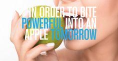 In order to bite powerful into an apple tomorrow. Dental Titan Implants from Impladenta. Dental, Apple, Dentistry, Teeth, Apples, Tooth