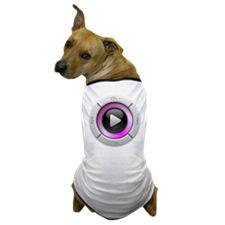 Play Button Dog T-Shirt