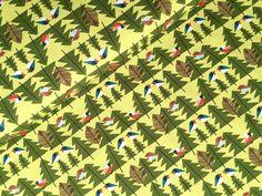 Stoff Vögel - HILCO Wallbird, Vögel, Wald,Stretch Jersey, grün - ein Designerstück von internaht-Stoffwerkstatt bei DaWanda