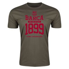 FC Barcelona Barca 1899 Mens Fashion T-Shirt