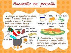 Macarrão na pressão. | 13 receitas ilustradas que vão te inspirar a ir para a cozinha