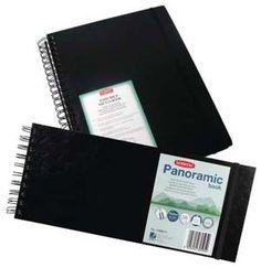 Med Panoramic Derwent Hardback Sketch Book Pack of 3