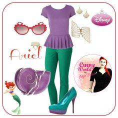 Disney Princess Outfits | Curvy World | WefollowPics