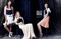 Muse Magazine Spring 2013 shot by Victor Demarchelier