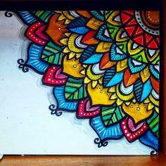 """Exercise"" Practicing and a study of what makes art so inspiring. Keep learning! Mandala Art Lesson, Mandala Painting, Mandala Drawing, Murals Street Art, Graffiti Art, Mural Wall Art, Canvas Wall Art, Dream Catcher Art, Art Tumblr"