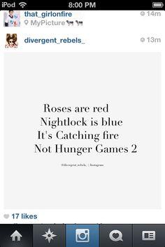 The Hunger Games poem