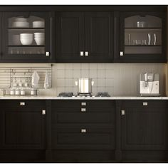 """BlackDeco"" Nuvo Cabinet Paint – An easy and affordable DIY cabinet painting kit!"
