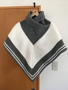 This poncho is warm and snuggly and perfect for those cold winter days. There is plenty of positive ease in this poncho and it can easily be lengthened simply by adding rounds to the body.